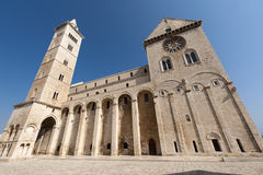 Trani (Apulia, Italie) - chaise médiévale Photographie stock libre de droits