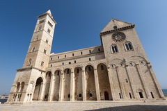 Trani (Apulia, Italien) - mittelalterliche Kathedrale Lizenzfreies Stockbild