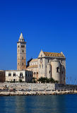 Trani, Apulia, Italy. The cathedrale San Nicola Pellegrino, Sankt Nikolaus, Trani, Apulia, Italy Royalty Free Stock Photo