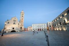 Trani (Apulia, Italy) by night Royalty Free Stock Photo