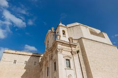 Trani, Apulia Italy royalty free stock photography