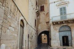 Trani, Apulia Włochy zdjęcia royalty free