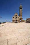 Trani Cathedral. View of the cathedral in Trani - Apulia, Italy Stock Images