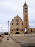 Trani Cathedral. The view of the facade of Trani Cathedral Stock Photo