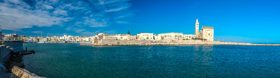 Trani cathedral royalty free stock photo