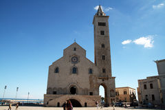 Trani cathedral Royalty Free Stock Photography