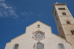 Trani Cathedral in Puglia royalty free stock photography