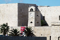 Trani fortification Stock Images