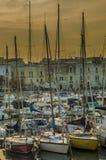 Trani harbor Stock Photo