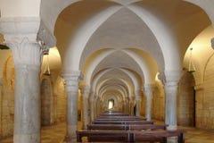 Trani, Italie : Chapelle de saint Nicolas photos libres de droits
