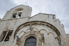 Trani Italy church Stock Photography