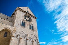 Trani katedra zdjęcia stock