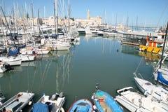 Trani port Stock Photo