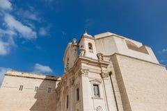 Trani, Pouilles Italie photographie stock libre de droits