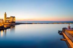 Trani, Puglia, Włochy Zdjęcia Stock
