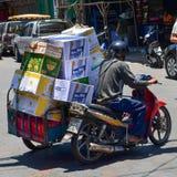 Tranport pudełka, Tajlandia zdjęcie stock