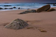 Tranqual rocks Stock Image