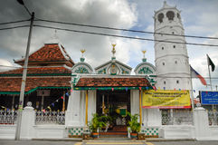 The Tranquerah Mosque or Masjid Tengkera Stock Images