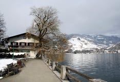 Tranquil Alpine Scene Stock Image