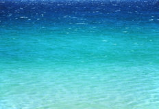 Tranquil azure sea surface Royalty Free Stock Photography
