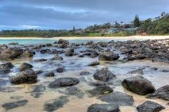 Tranquil beach Stock Photos