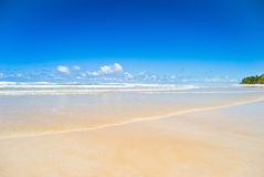 Tranquil beach scene Royalty Free Stock Images