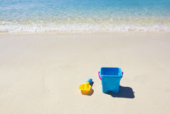 Peaceful Sandy Beach Royalty Free Stock Photography