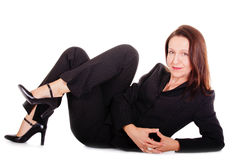 Tranquil businesswoman Stock Image