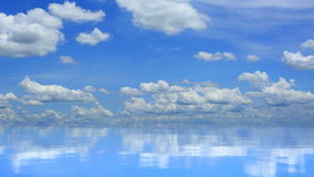 Tranquil calm scene stock footage
