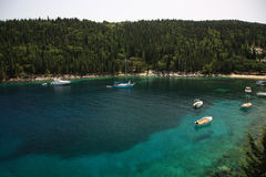 Tranquil Cove Kefalonia Stock Images