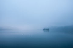 Tranquil Dawn, Island of the Han River Royalty Free Stock Photos