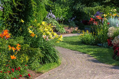 Tranquil Garden Royalty Free Stock Images
