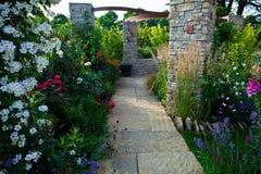 Tranquil garden Stock Photos