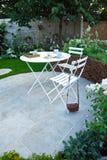Tranquil garden Stock Image