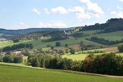 Tranquil green grassland Stock Image