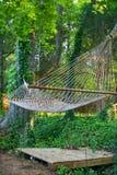 Tranquil hammock Royalty Free Stock Image