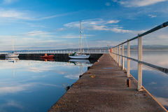 Tranquil Harbour Royalty Free Stock Photos