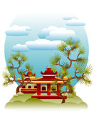Feng Shui illustration Stock Image