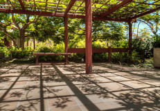 Tranquil Japanese Friendship Garden at the Balboa Park in San Di Royalty Free Stock Photography