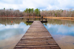 Tranquil jetty Royalty Free Stock Image