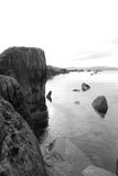 Tranquil kerry black and white view Stock Photos