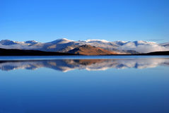 Tranquil lake Stock Photography