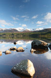 Tranquil lake Stock Images