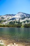 Tranquil lake in Yosemite Stock Photo