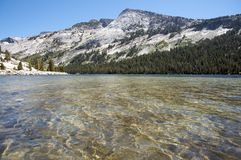Tranquil lake in Yosemite Stock Image