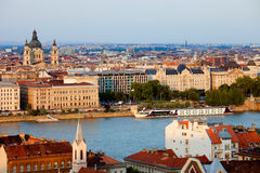 City of Budapest Cityscape Stock Image