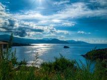 Tranquil Mediteranean bay Royalty Free Stock Image