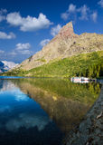 Tranquil Morning at Lake Josephine Royalty Free Stock Images