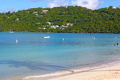 Tranquil morning at Magens Bay on St Thomas Island, US VI. Royalty Free Stock Photography