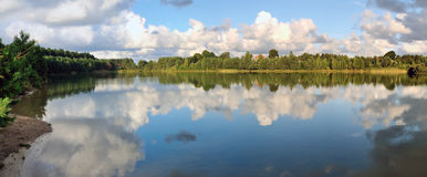 Tranquil Morning Near A Lake Stock Photography